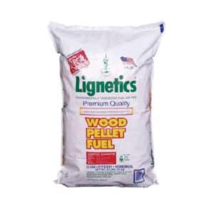 Lignetics premium wood pellets