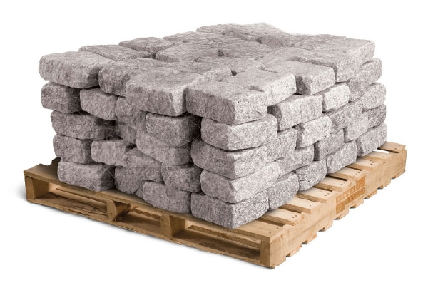 Belgium-Blocks-Cobbles-Grey Natural stone edgers