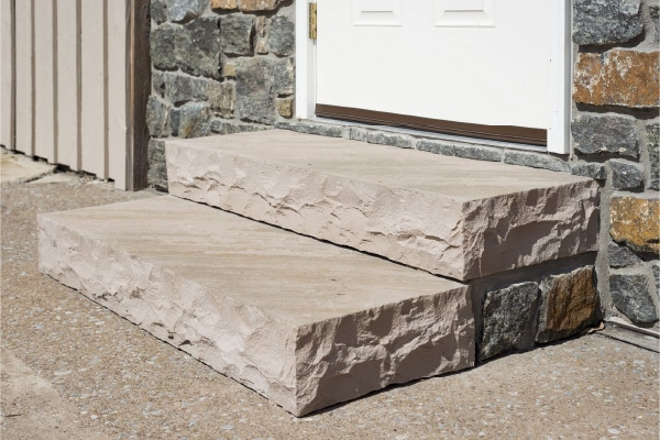 ClassicSteps AutumnBrown 46 LG Natural Stone Steps