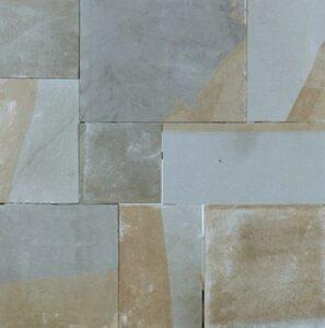 PA Bluestone Full Color Flagstone Irregular