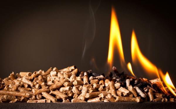 burning wood pellets downsized Wood Pellets