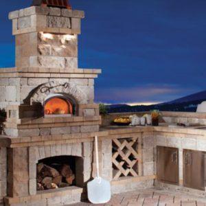 Authentic brick ovens