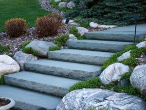 new york blue stone steps Natural Stone Steps